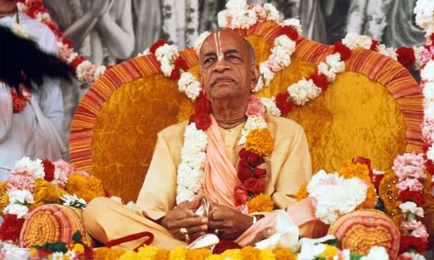 Srila Prabhupada, the Founder-Acharya of the Golden Age